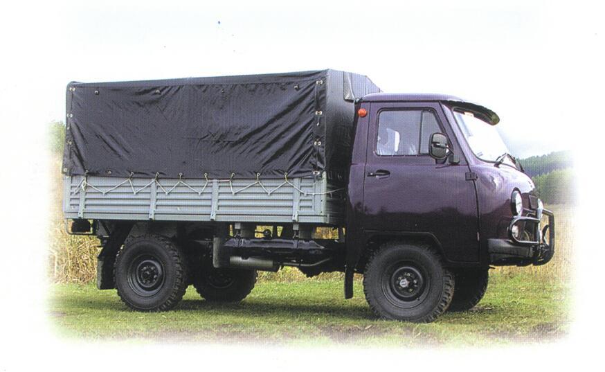Раздаточная коробка.  Тормозная система.  Модификация а/м УАЗ.  Колёсная формула.